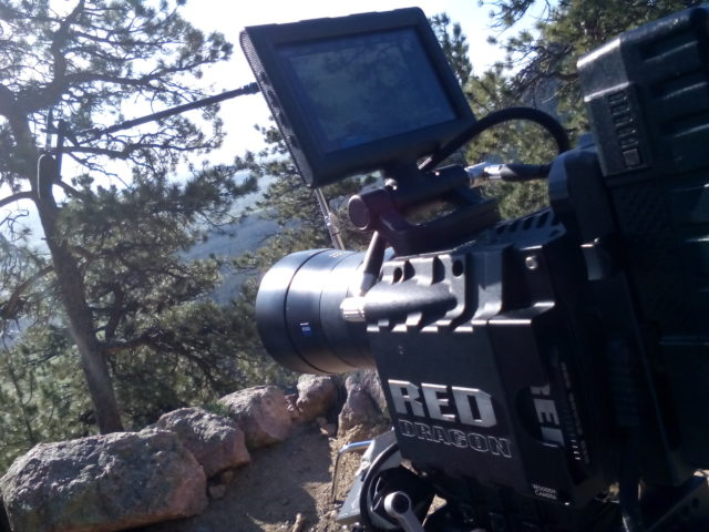 Local location sound in Boulder Colorado with RED Epic Dragon cameras by Nick Teti, Mister Photon Media.
